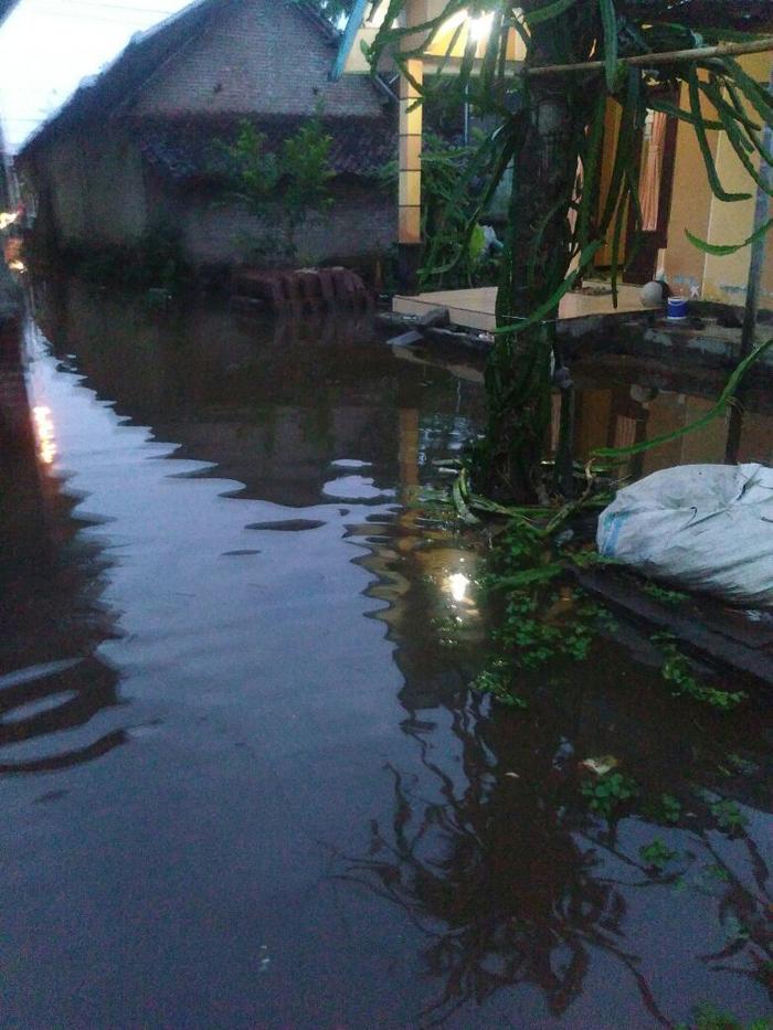 Dusun Besukan Desa Karangbendo Langganan Banjir, Perlu Segera di Atasi.