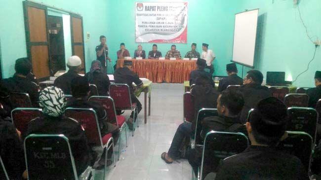 PPK Mlandingan Gelar Rapat Pleno Terbuka DPHP Pemilu