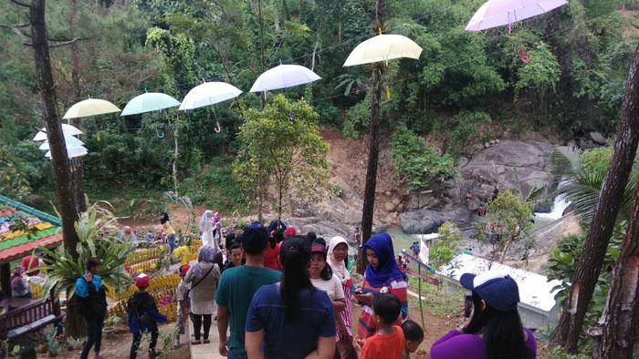 Usai Dilaunching, Wisata Putri Maron Diserbu Pengunjung